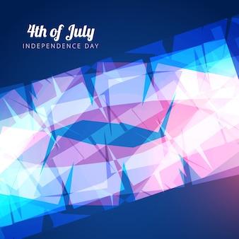 Ilustração vetorial do americano 4 de julho design do dia da independência