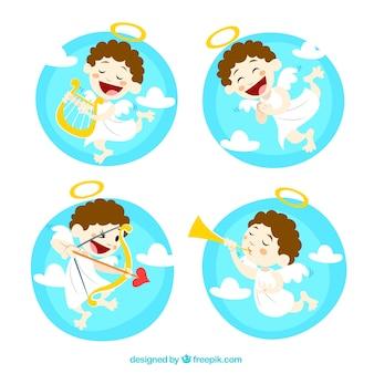 Ilustrações Cupido