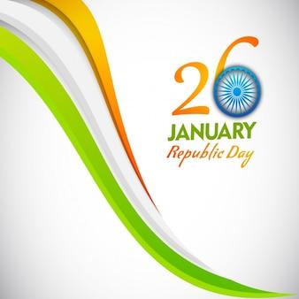 Índia fundo do dia da independência