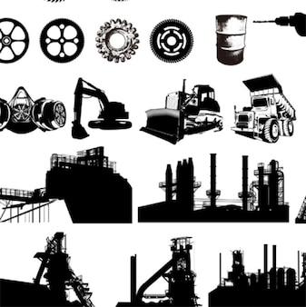 industriais vetoriais equipamentos gráficos gratuitos