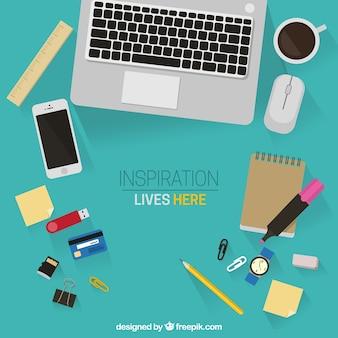 Inspiração vive aqui