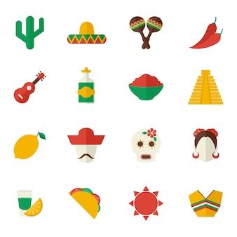 Item coleção mexicana