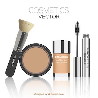 Itens de cosméticos