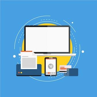 Itens prontos para e-commerce