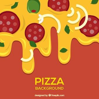 Jantar de pizza