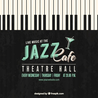 Jazz cafe poster