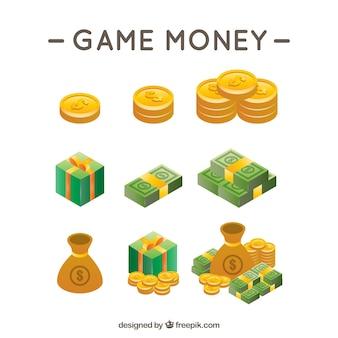 Jogo de vídeo dinheiro