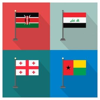 Kenya Irak Geórgia e Guiné-Bissau