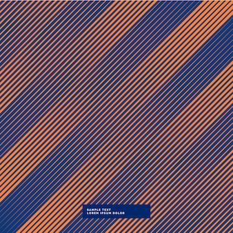 Laranja e linhas diagonais fundo roxo