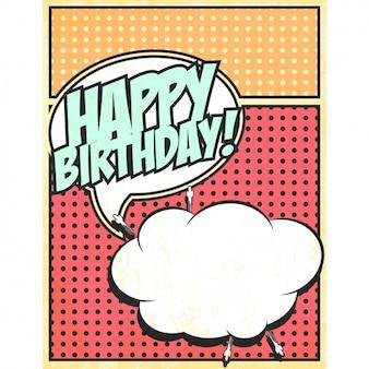 Lettering Feliz aniversário