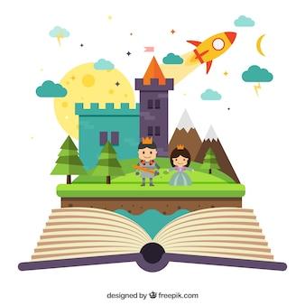 Livro imaginativo magia