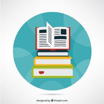 Pilha De Livros De Tres 742461