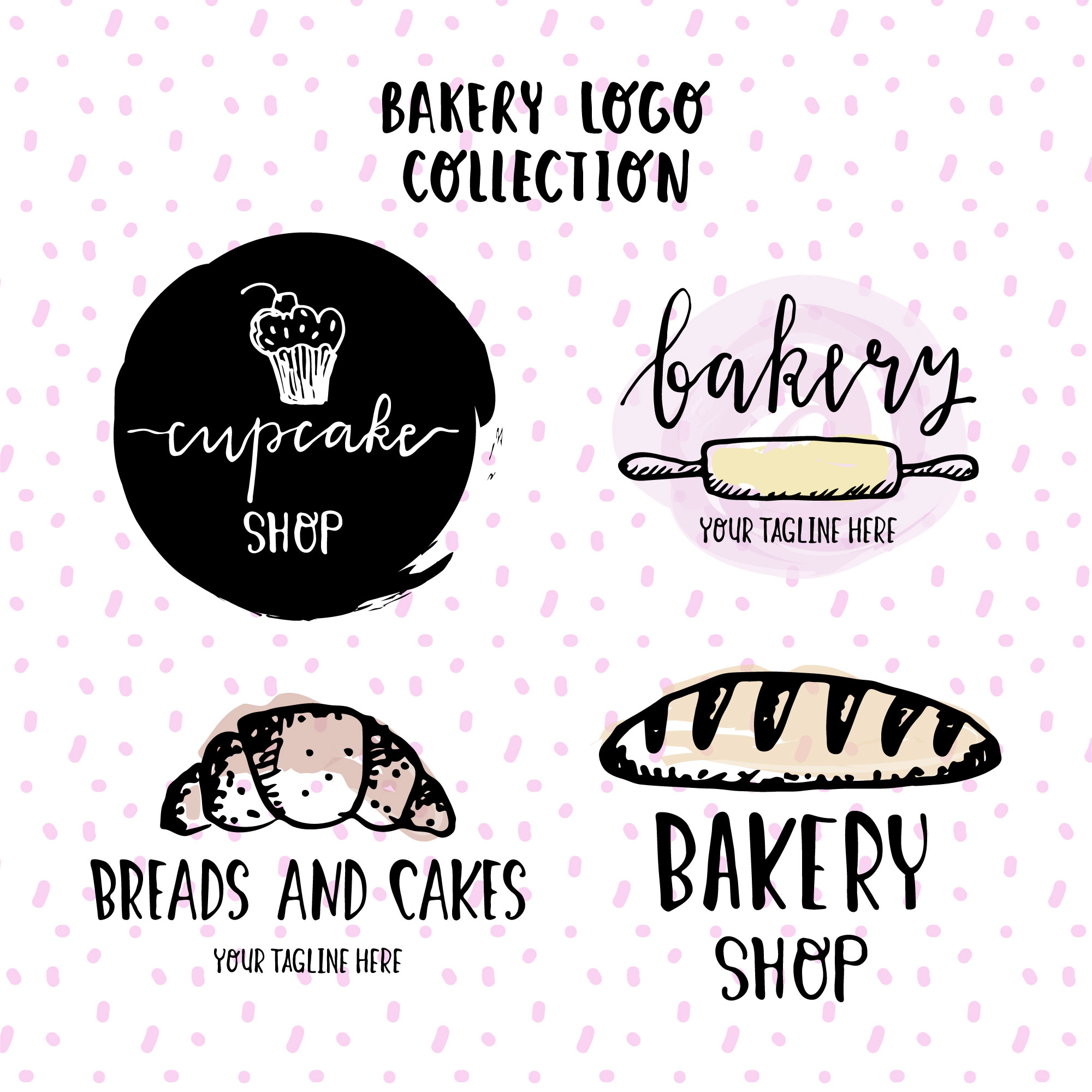 Logo collection Bakery