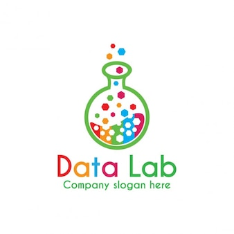 Logo colorido Lab