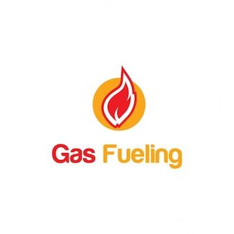 Logo de alimentação de gás