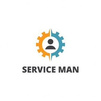 Logo Man serviço