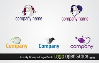 Logo Pack linda ovinos
