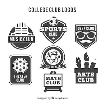 Logos para clubes universitários