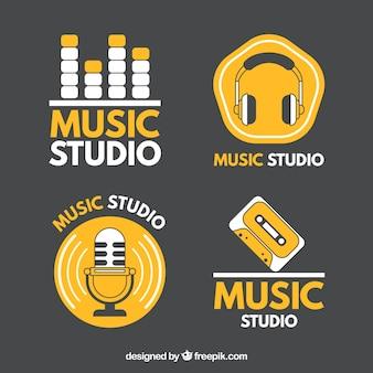 Logos para estúdios de música