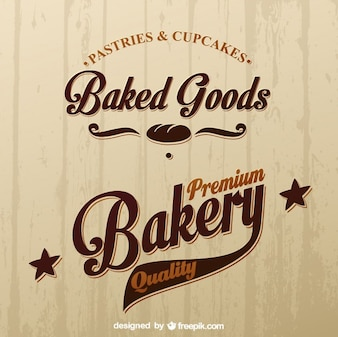 Logotipo da loja padaria