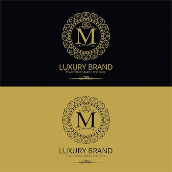 Logotipo da marca de luxo