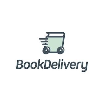 Logotipo de entrega de livros