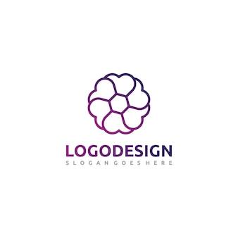 Logotipo de fotografia de amor