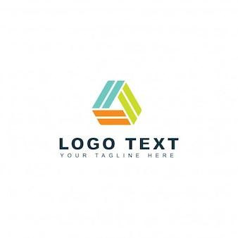 Logotipo de impressão de pirâmide