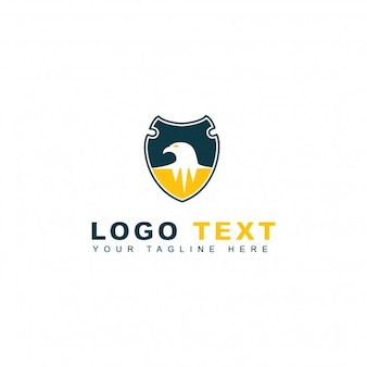 Logotipo de segurança Eagle