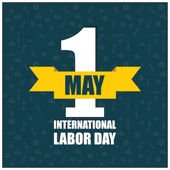 logotipo do Dia do Trabalho Poster