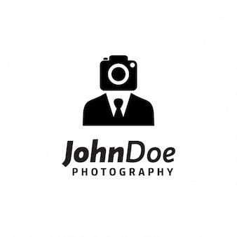 Logotipo do fotógrafo criativo