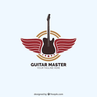 Logotipo do mestre da guitarra
