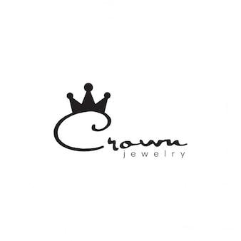 Logotipo jóias da coroa