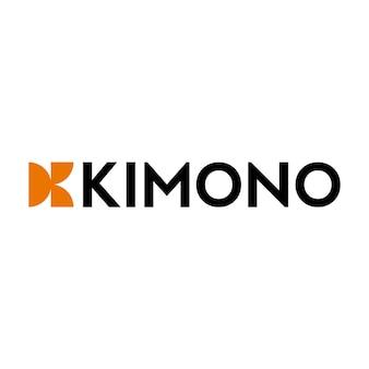 Logotipo Kimono Letter K