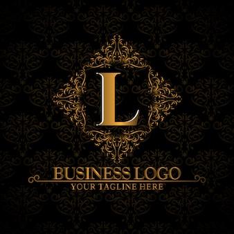 Logotipo modelo elegante