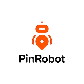 Logotipo Robot Pin
