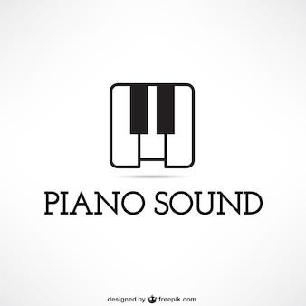 Logotipo som de piano
