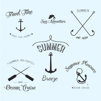 Logotipos de viagem