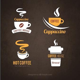 Logotipos do café