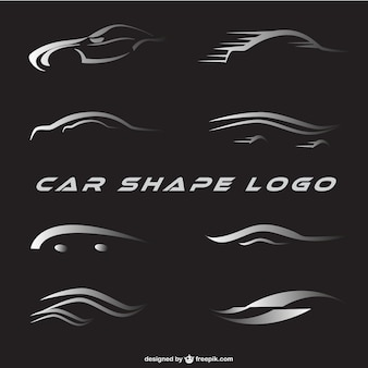 Logotipos do carro definida