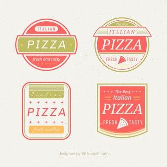 Logotipos moldada bonito para pizza