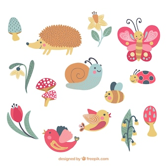 Lovely animals set