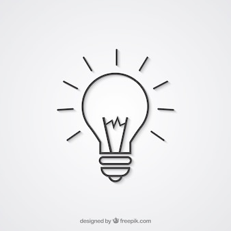 Luz ícone bulbo