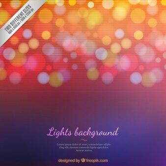 Luzes pontilhadas fundo