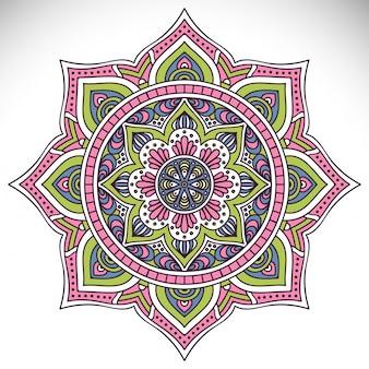 Mandala estilo étnico