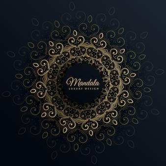 Mandala, ornamento, decoração, pretas, fundo