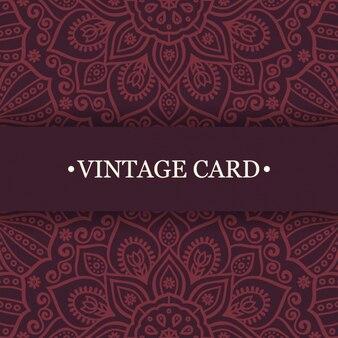 Mandala projeto cartões