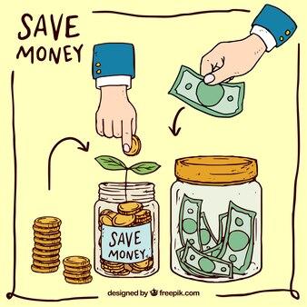 Maneiras de poupar dinheiro