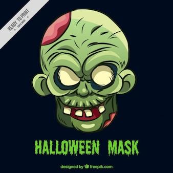 Máscara de monstro assustador