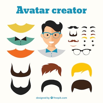 Masculino criador avatar